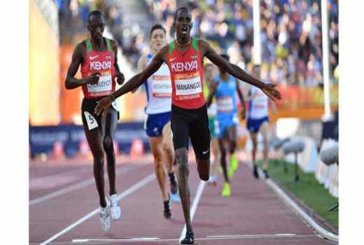 World champion ensures Kenyans retain 1,500m title won by Magut in 2014