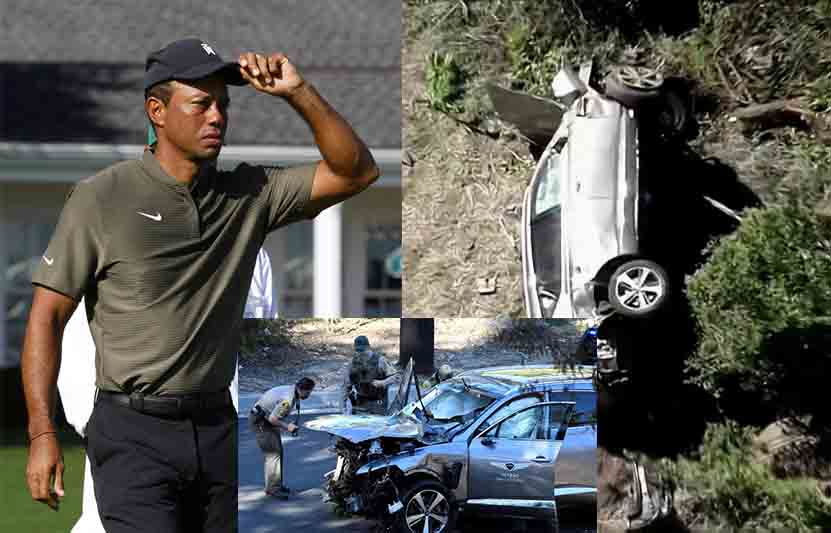 Tiger Woods told police he didn't remember driving