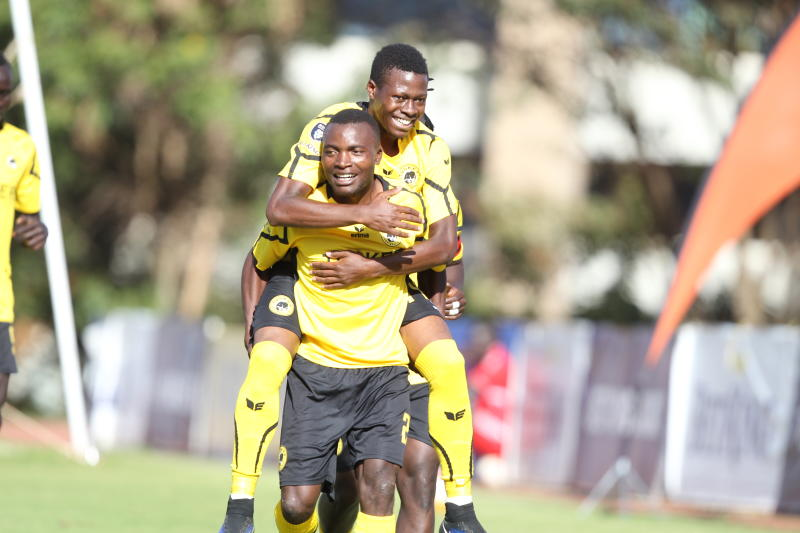Tusker climb to top of table