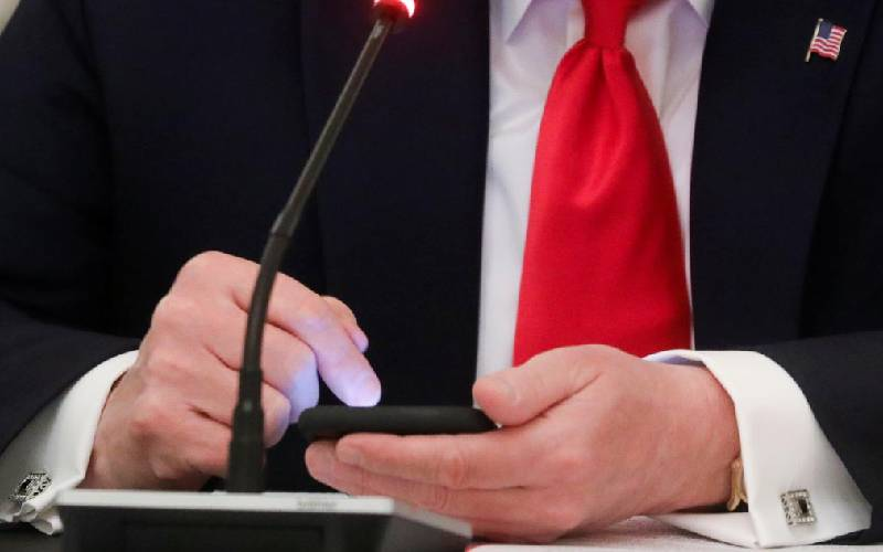 Twitter disables Trump tweet over copyright complaint