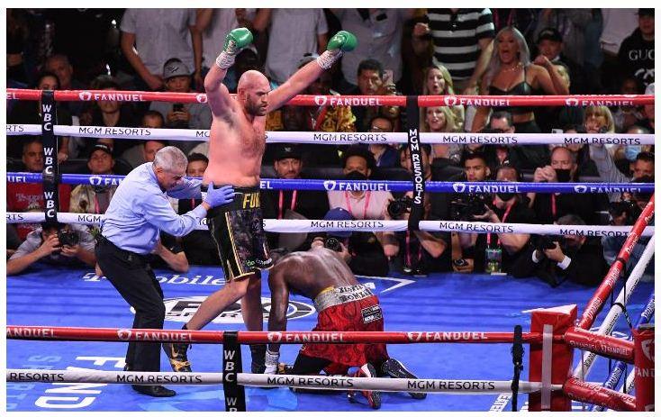 Tyson Fury beats Deontay Wilder to retain WBC heavyweight boxing title
