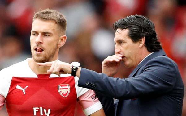 Unai Emery confirms he had no say in Aaron Ramsey's Arsenal exit