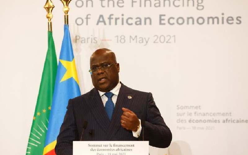 Pres Tshisekedi says Kinshasa hospitals 'overwhelmed' by coronavirus