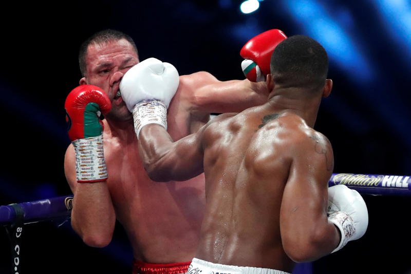WBO orders Anthony Joshua to defend heavyweight title