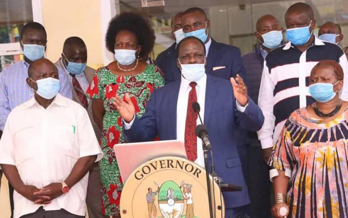 'We can't eat masks, we want food,' Kakamega traders tell Oparanya