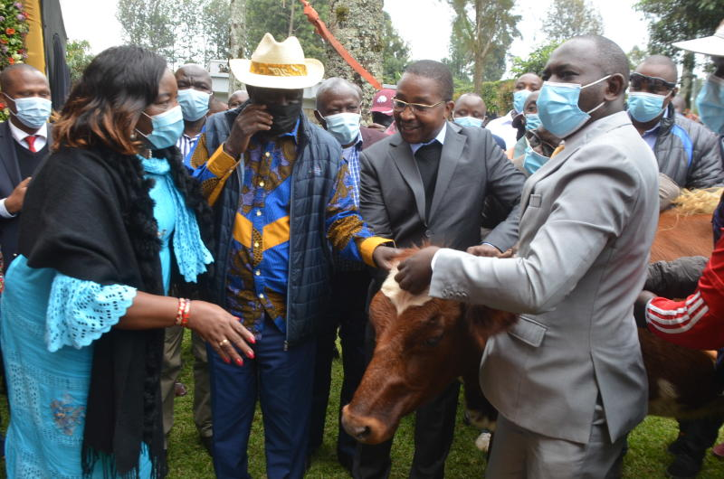 What Raila's latest forays into Mt Kenya means for local politicians