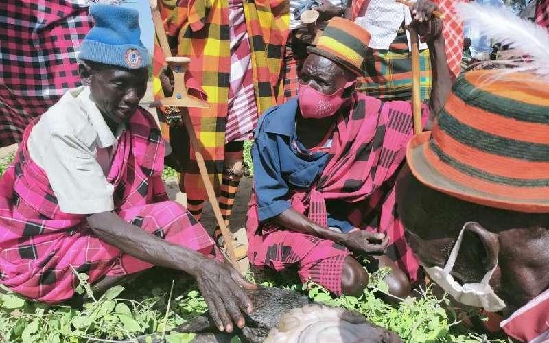 Where goat intestines predict rains, raids, drought, diseases