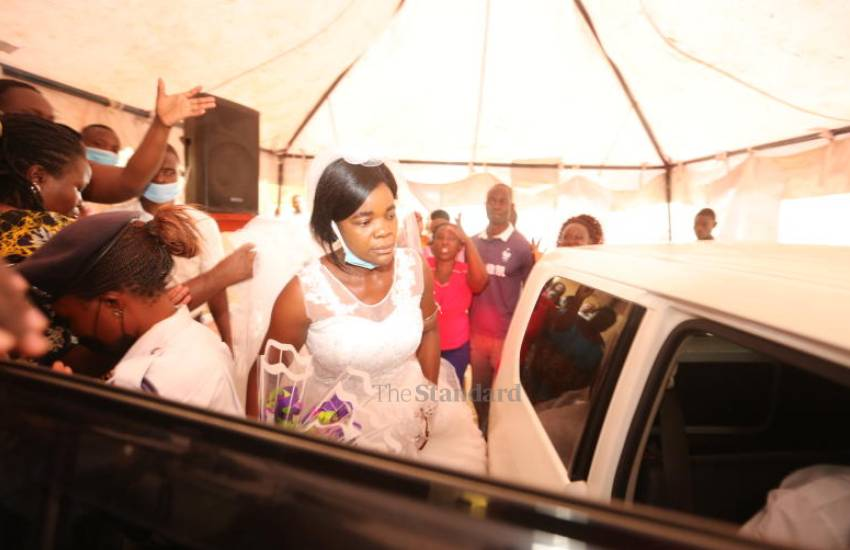 Drama as woman storms wedding [PHOTOS]