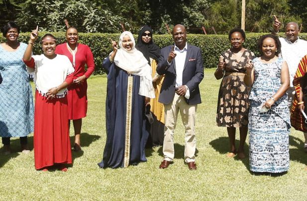Women leaders push for their space in BBI