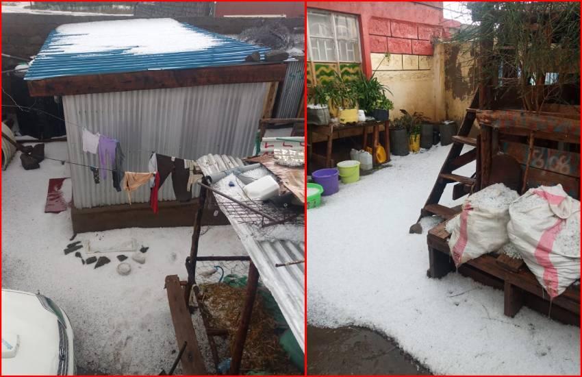 Wonder in Naivasha over hailstorm