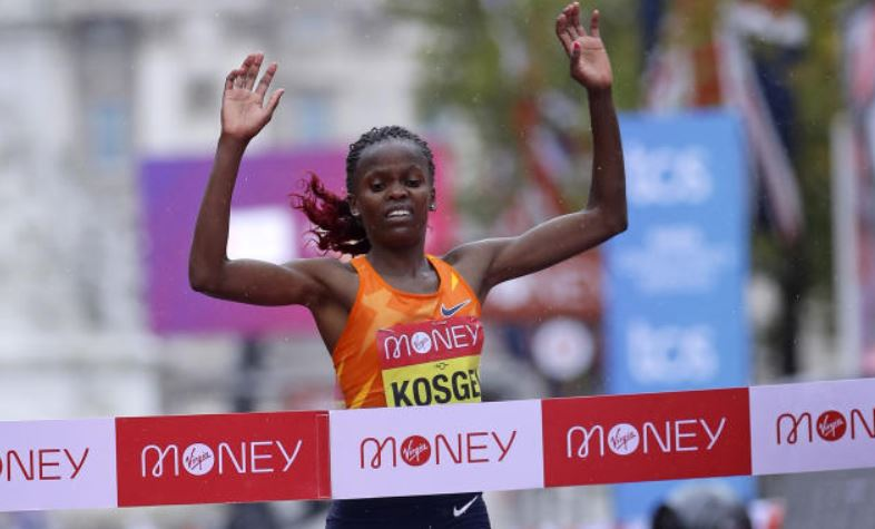 World record holders Kosgei and Yeshaneh set for Delhi race