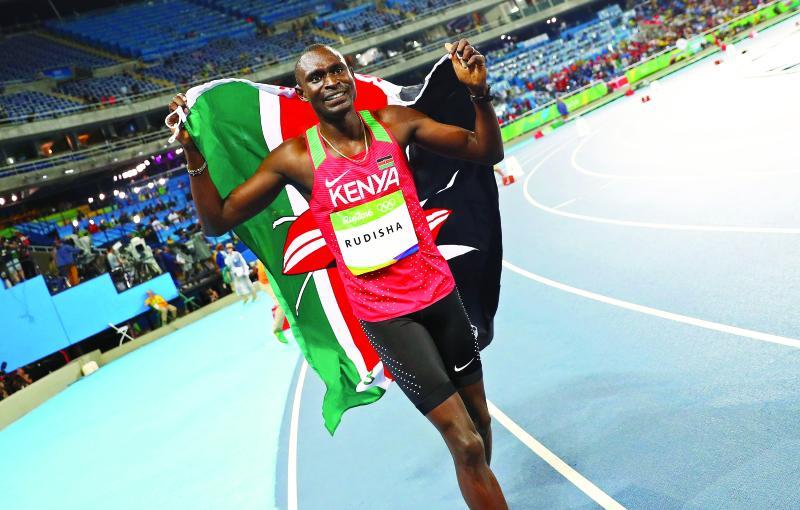 Wycliffe Kinyamal: God help me succeed David Rudisha