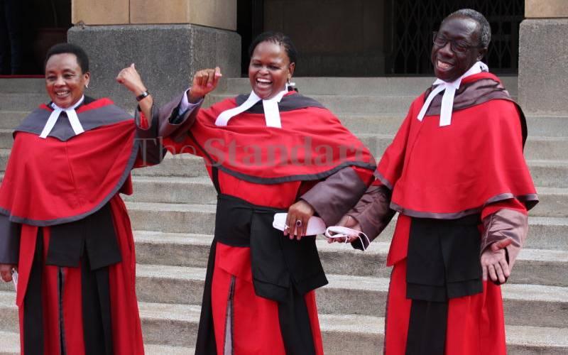 Yes, let the Executive and Judiciary restore harmony