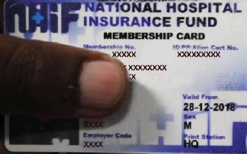 You will need digital registration to seek treatment through NHIF