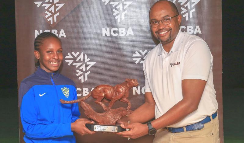 Youngster Mumbi wins NCBA Golf Series in Limuru