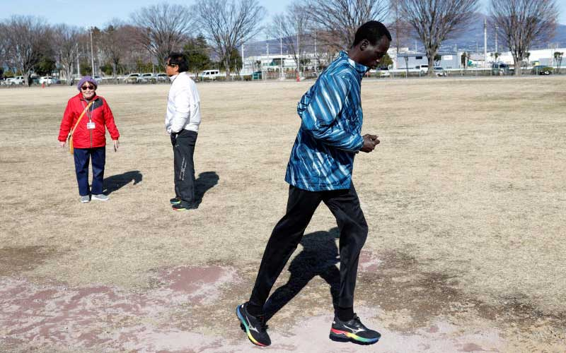 2 things South Sudanese runner aims to bring back to his war-torn country