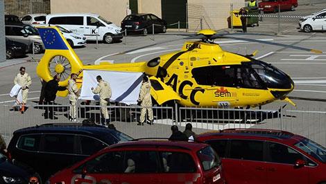 Formula One: Alonso taken to hospital after testing crash