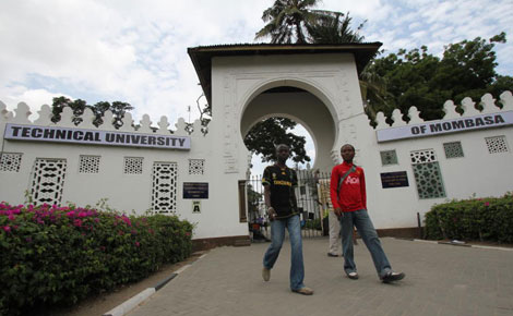 The phases of Mombasa varsity over the years
