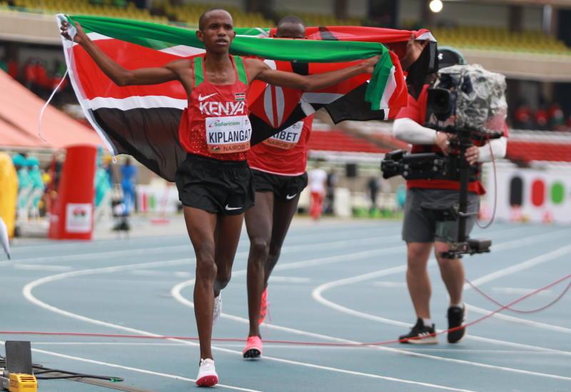 Benson Kiplagat wins first gold for Kenya at World Under-20 Championships as Levi Kibet bags Bronze