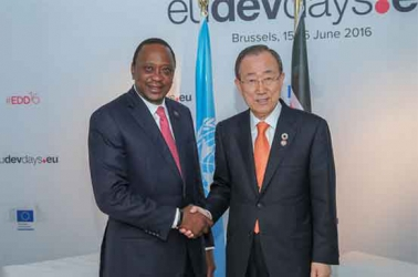 Uhuru asks EU to relax loans terms