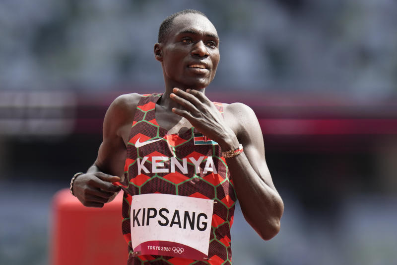 Abel Kipsang sets new Olympic record in 1,500m semis