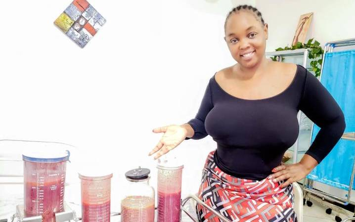 Actor Risper Faith talks about he two years struggle with body fat