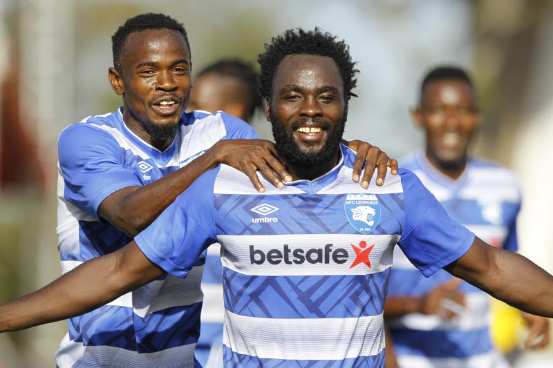 AFC Leopards move joint top, K'Ogalo wins in Mumias