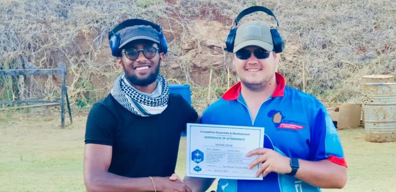 Africa's top shooter Ian Van der Bank pulls out of IDPA event in Kiambu
