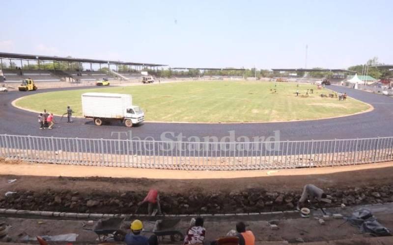Amina defends Kisumu stadium works progress