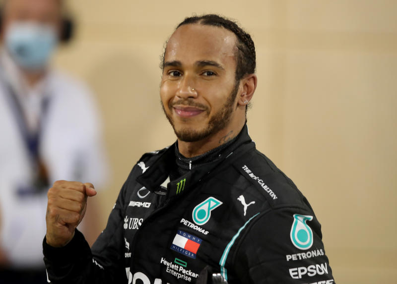 Arise Sir Lewis; Hamilton gets his knighthood