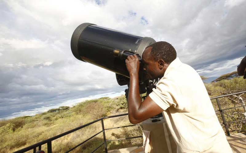 Astro tourism stars in Baringo