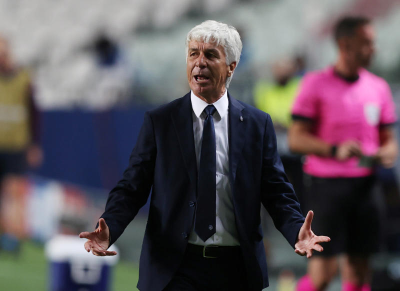 Atalanta coach Gasperini left with 'great regret' after exit to PSG