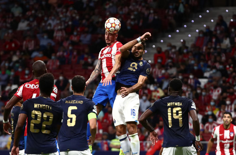 Atletico draw with Porto as VAR denies visitors
