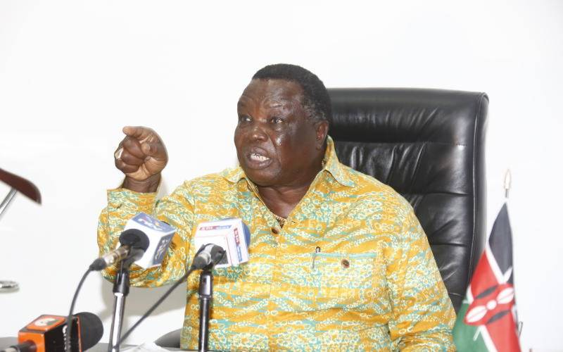 Atwoli: I do not know who will be the President in 2022 but I know who will not be