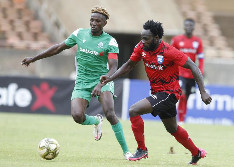 AFC Leopards coach Patrick Aussems hails Rupia