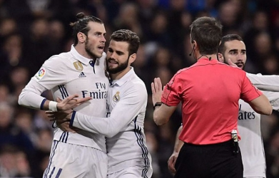 Bale sent off as Real Madrid is held to a 3-3 draw with Las Palmas