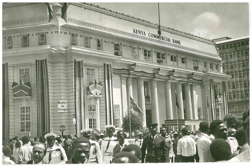 Did you know that this building once KCB headquarters?