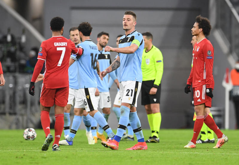 Bayern Munich  complete job against Lazio to ease into last eight