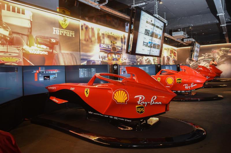 Belt up, time to rev virtual F1 engines at Village Market