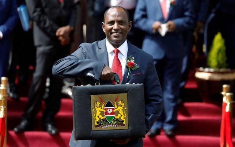 Blog: Treasury CS Ukur Yatani unveils Sh3.6 trillion 2021/22 Budget