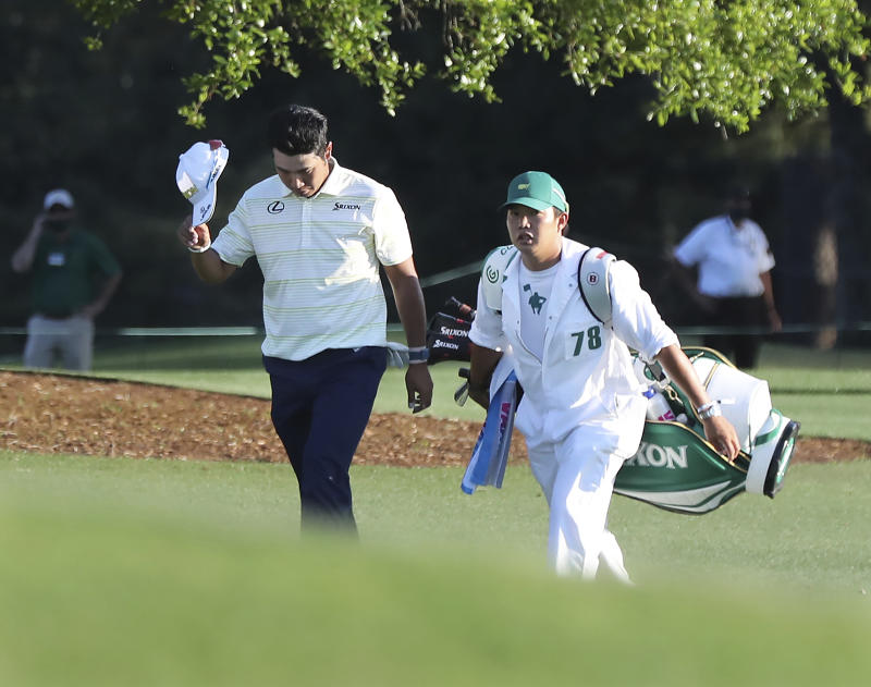 Bowing by Matsuyama caddie at the Masters showed spirit of golf