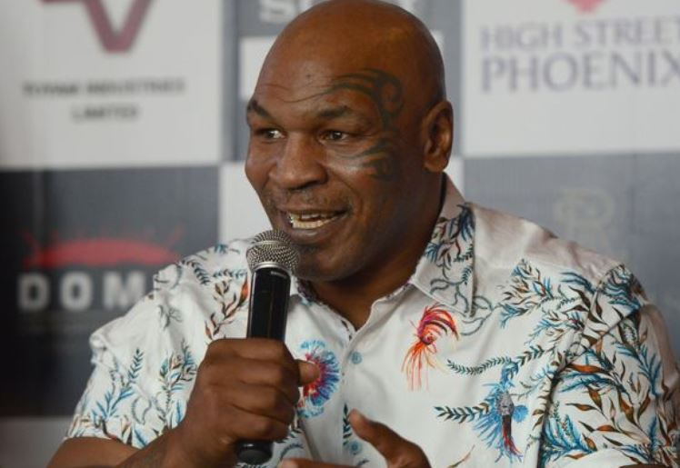Boxing heavyweight Mike Tyson is 'looking forward' to death
