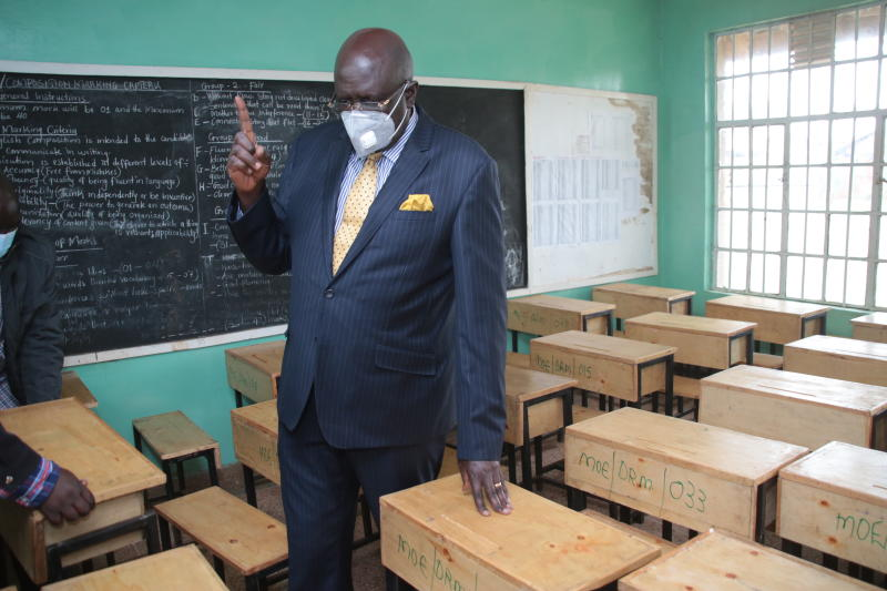 Candidates to sit for national exams in March despite Covid-19, Magoha says