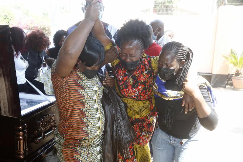 Kangogo, her victim Ogweno's families meet at crime scene
