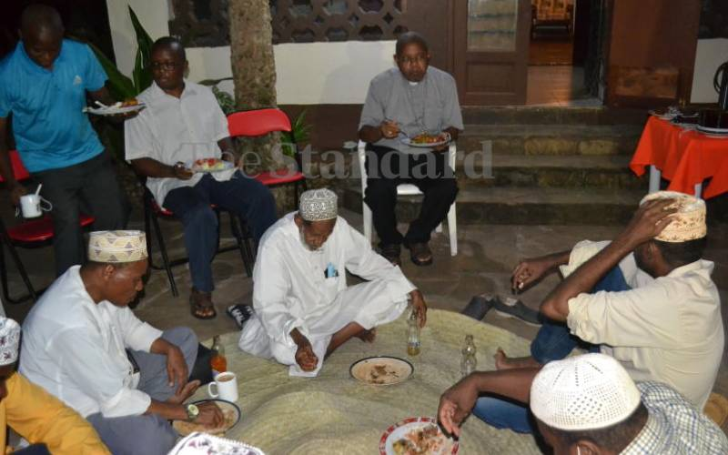 Religious barriers breaker Bishop Willybard Lagho hosts Muslims for Iftar