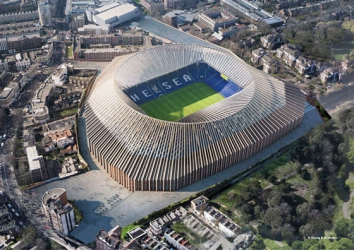Chelsea stadium redevelopment images show inside of revamped Stamford Bridge