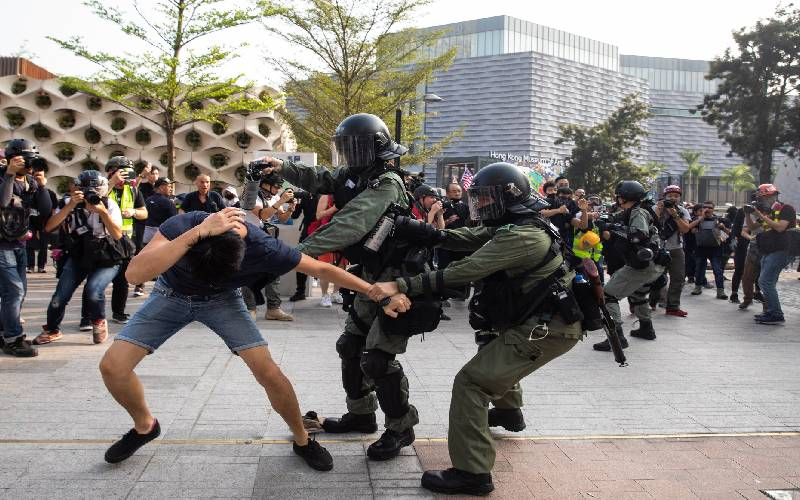 China using cases against Hong Kong activists to muzzle opposition