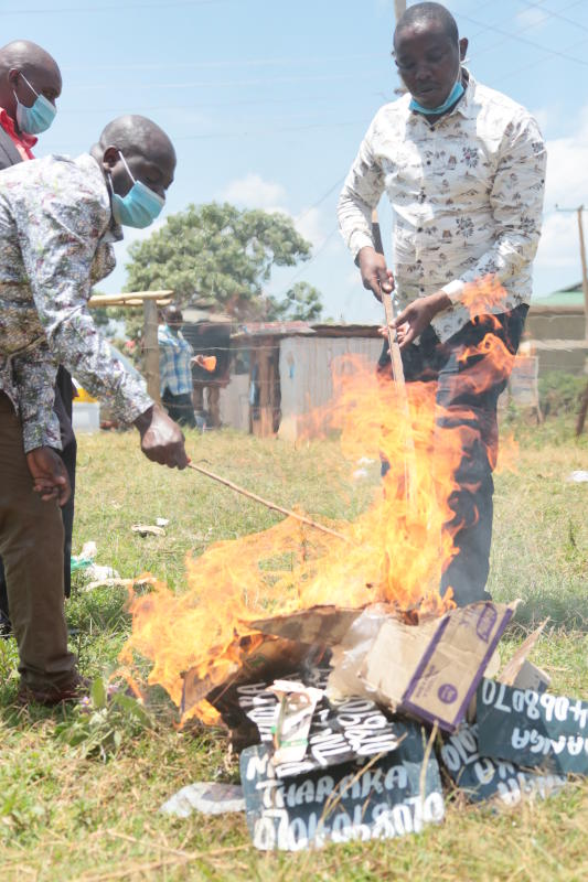 Witchdoctors warn pastors of dire consequences for pulling down their posters
