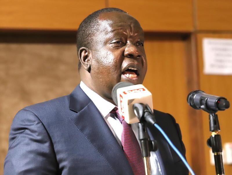 Commonwealth job: CS Matiang'i now seeks Zambia support