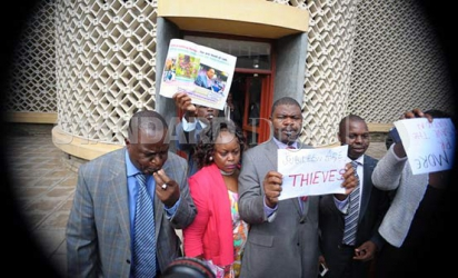CORD MPs kicked out in day of chaos